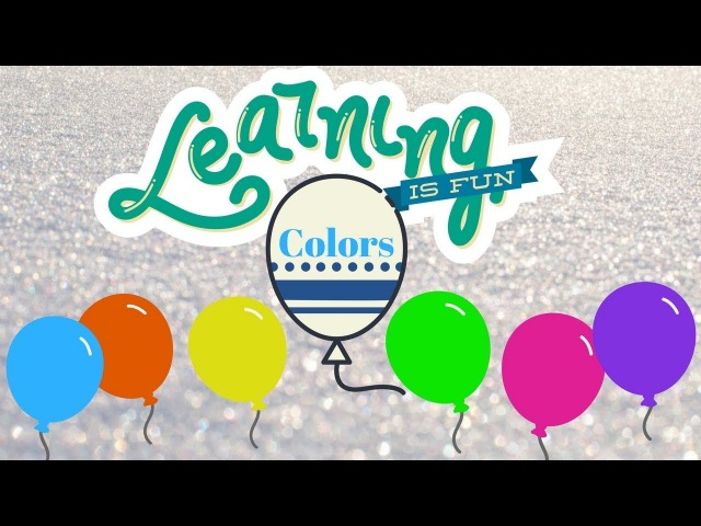 Learn Colors With Balloons Nazir Learn Colors in English with BALLONS. KIDS FOR VIDEO