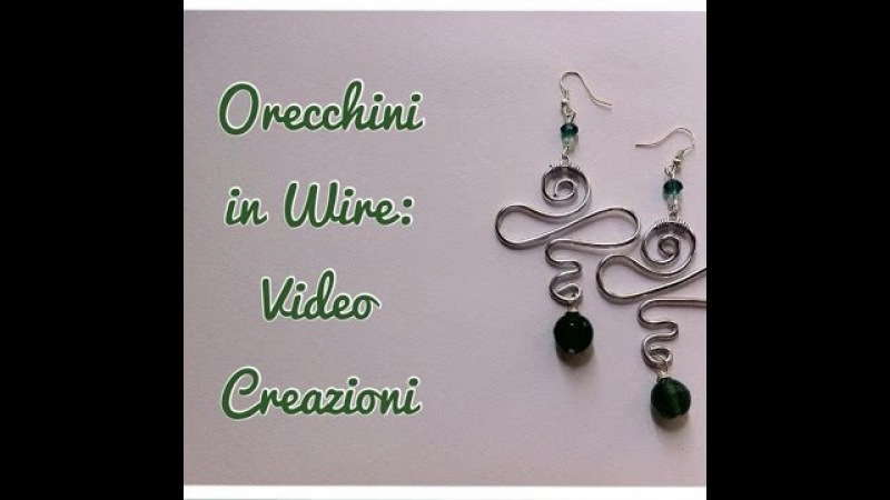 Primi Orecchini in Wire Autunnali: Video Creazioni