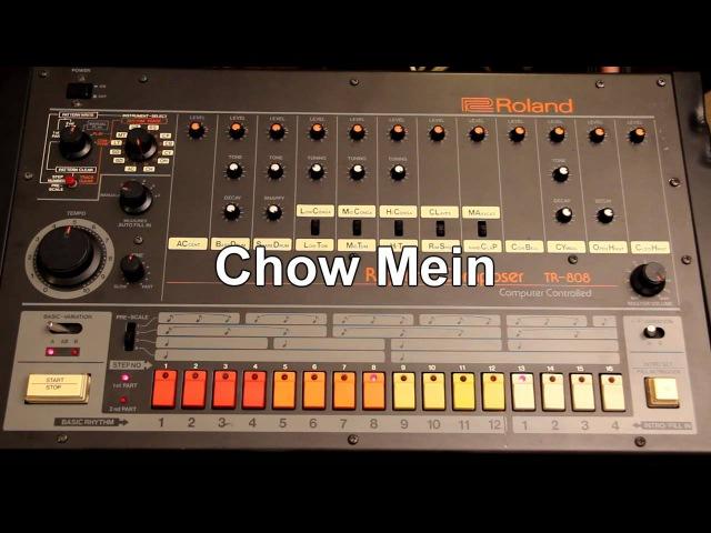 Roland TR-808 misc rhythms
