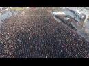 В Турции сотни тысяч людей прибыли на пятничный намаз в честь шахида, погибшего в ходе АТО «Оливковая ветвь».