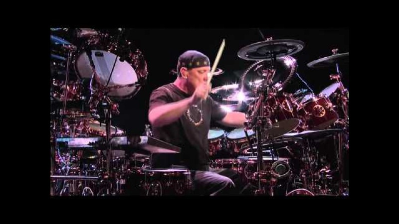 Neil Peart Drum Solo (1080p HD) David Letterman Jun 09 '11