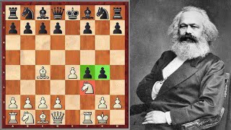 Wow! Karl Marx Goes For Muzio Gambit