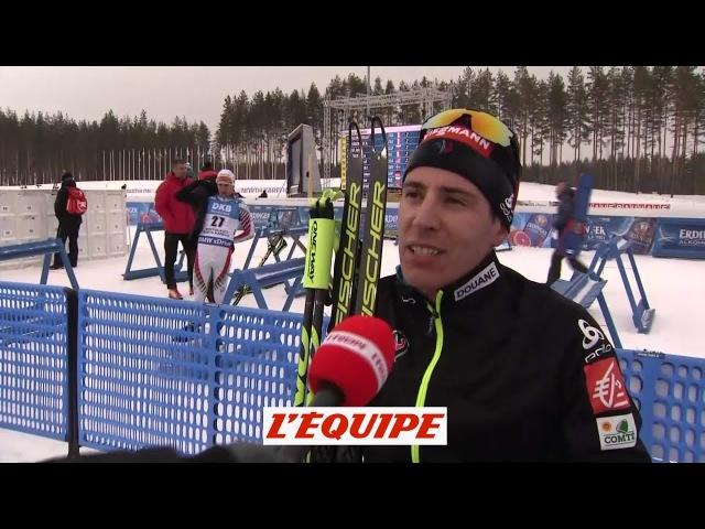 Fillon-Maillet «Martin est impressionnant» - Biathlon - CM (H)