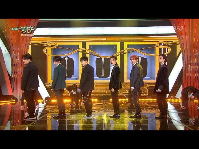 SUPER JUNIOR 슈퍼주니어 'Black Suit' KBS MUSIC BANK 2017.11.17