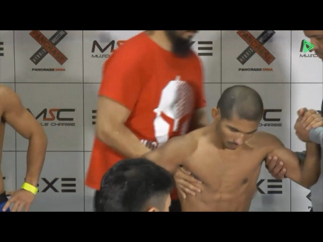 Pancrase 290 - Daniel Lima Weigh-in Scare