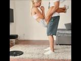 С мужчиной можно эффективно тренироваться, согласны? 😏