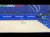 Арина Аверина - лента (квалификация) // Чемпионат Мира 2017