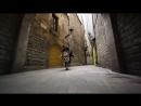 Паркур на великах по Барселоне