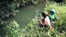 Taug Kwj Ha Mus Nuv Ntse Hmong Women Fishing In Laos