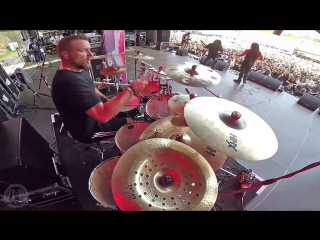 CRYPTOPSY - Slit Your Guts (Drum Playthrough By Flo Mounier) ()