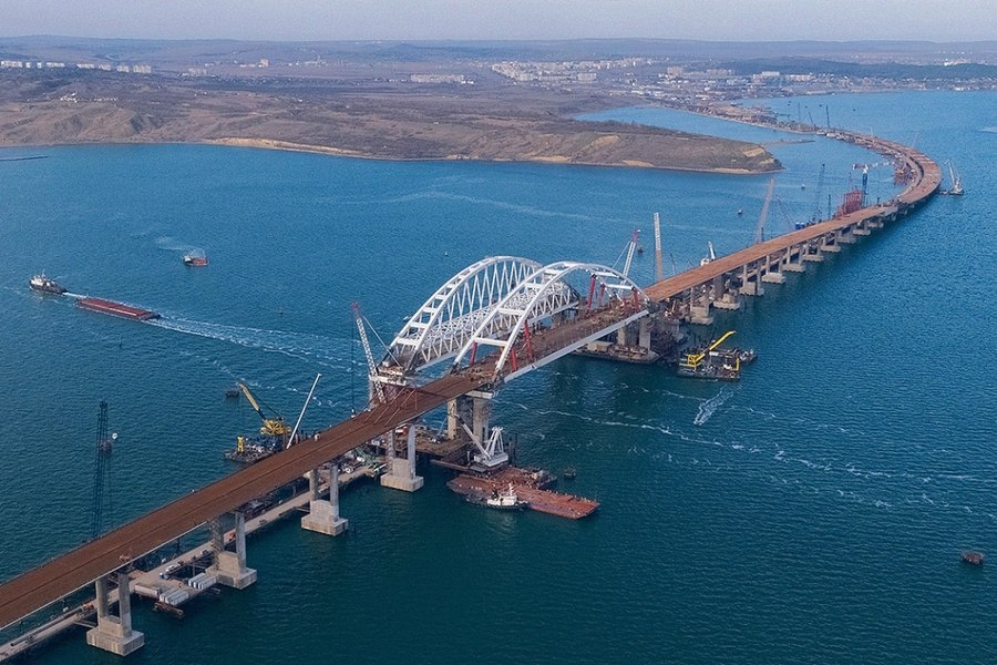 Открытие Крымского моста - полный вперед (Видео)