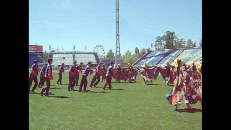 танец Гармун на Федеральном Сабантуе в г Томске 15.06.2014г