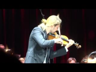 David Garrett - P.I.Tchaikovsky_ Violin Concerto in D Major, Op.35, fragment 3 - Aachen 03.09.17