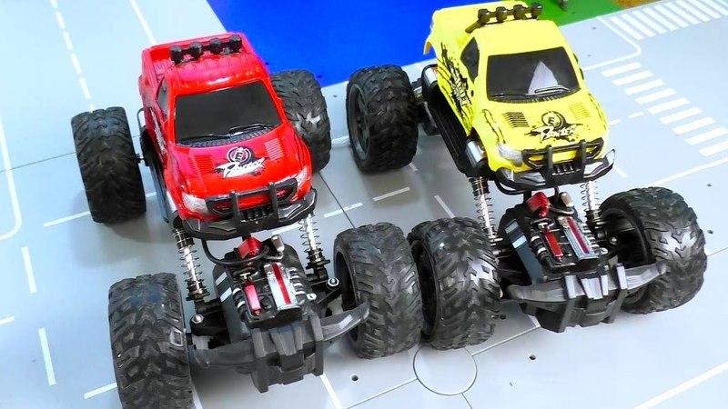Бигфут и Рок Краулер машинки Monster Truck RC