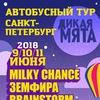 """Автобусный тур из СПБ на """"Дикая Мята""""-2018"""