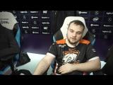 Флеш-интервью с No[o]ne после победы над Evil Geniuses. ESL One Katowice
