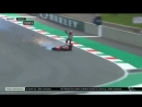 Michele Pirro Horrific crash in FP2