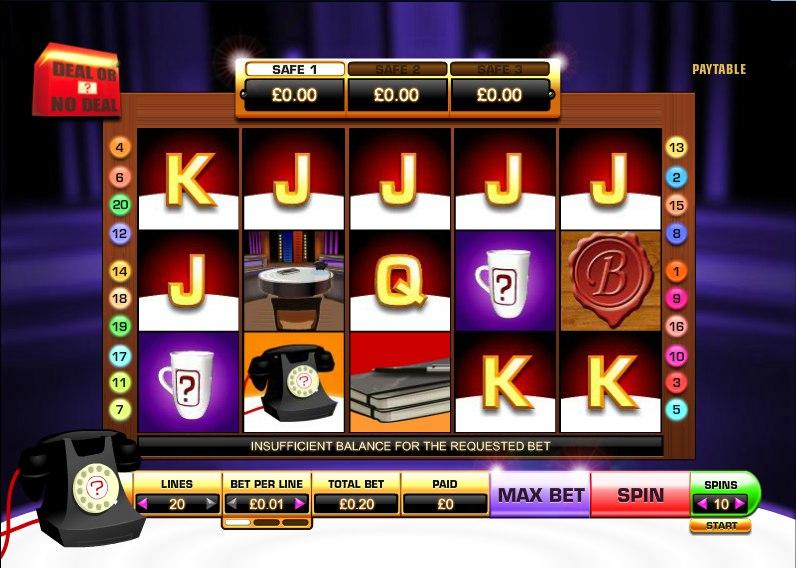 Обзор Deal or No Deal Slots - игра для слота