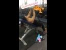 Отведение плеча на наклонной скамье: грудные мышцы