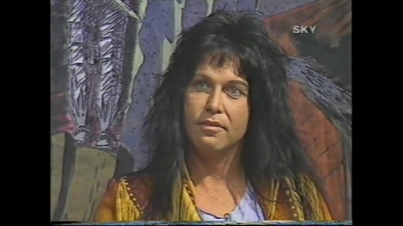 Blackie Lawless About The Singing Lady In Warlock 1986