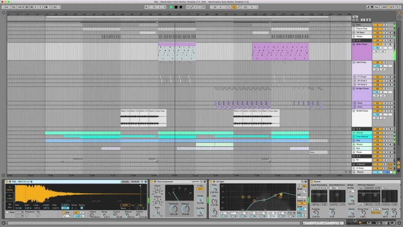 Marshmello Ableton Template Playthrough Xfer Serum PML