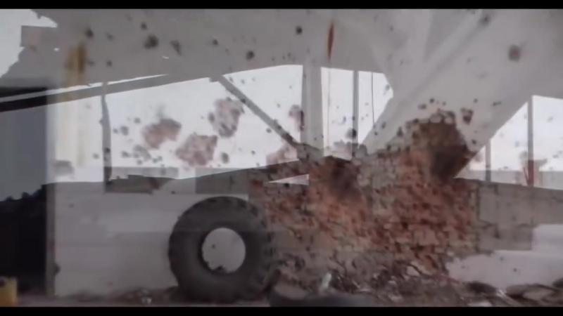 Видео боя разведки 4го РШБ ДНР с боевиками ВСУ в районе _Депо_ Авдеевки ( 720 X 1280 )
