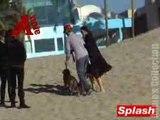 Aaron and Kaci at the Beach - YouTube