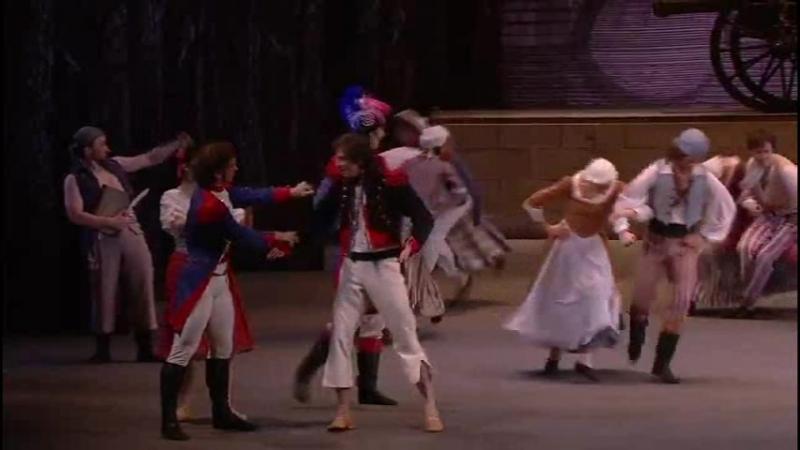 Балет Пламя Парижа 3 Жером примеряет новый костюм
