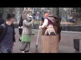 ПРАНК_Бабка на гироступе-4_ДТП в Питере