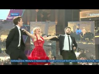 Юлия Самойлова впервые исполнила перед зрителями песню, с которой выступит на «Евровидении»