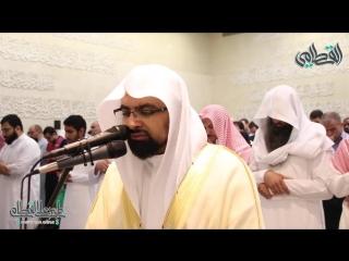 ﴿ وأن الله لا يهدي كيد الخائنين ﴾ من أروع مارتل وحبر به الشيخ ناصر القطامي | الليلة 15 رمضان 1439