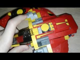 Обзор Лего 76084 Решающая Битва За Асгард 2 Часть Обзор Летательного Средства Ва