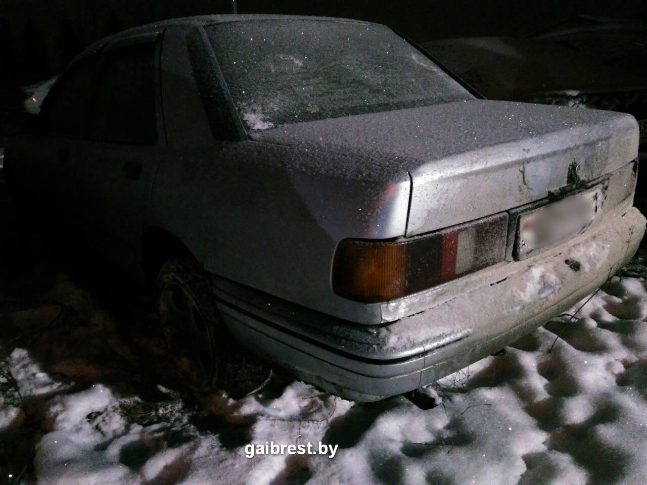 Пинский район: нетрезвый водитель был остановлен с помощью табельного оружия