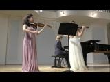 Шуберт Серенада, исп. Анна Савкина (скрипка) Елизавета Леонова (скрипка) Тимофей Доля (фортепиано)