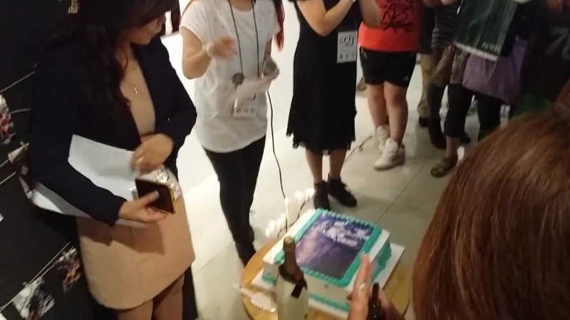 Jang keun suk birthday party in seoul korean fan club 2013 09 15