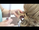 Прическа и макияж для подружки  невесты от Инны Гогия