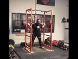 Дэн Грин - присед 255 кг