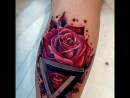 Роза с треугольником Пенроуза