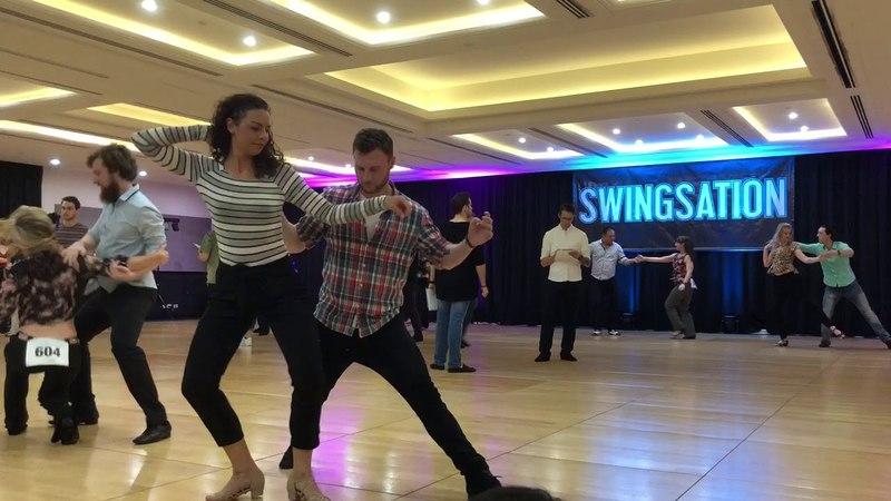 Lachlan McInnes Maddy Platts Improv Adv All Star JnJ @ Swingsation 2018