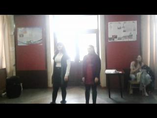 Выступление Алины Гусаренко и Кристалы Пыхтиной