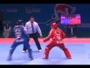 Демонстрация динамики соревнований по тхэквондо Корея против России 2011г