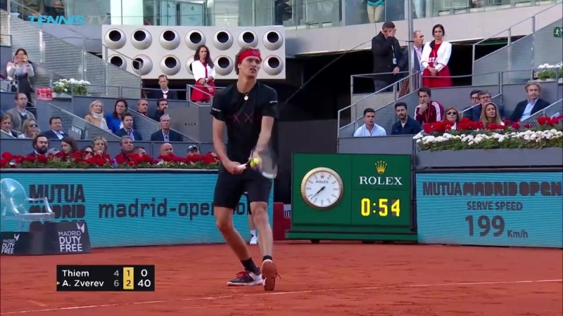 [Tennis TV] Alexander Zverev defeats Thiem to win first Madrid title | Mutua Madrid Open 2018 Final Highlights