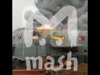 Под Ростовом загорелся рынок