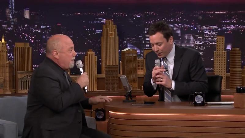 Billy Joel and Jimmy Fallon - The Lion Sleeps Tonight