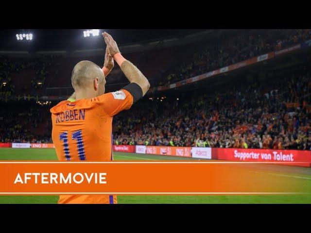 Aftermovie Nederland - Zweden (10/10/2017)