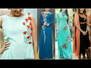 Designer Floral Work Kurta/Kurti Designs || Long Tops For Women