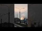 Взрыв и пожар Маршала Говорова. Санкт-Петербург