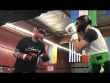 Тренировки Сергея Ковалева перед боем с Михалкиным (видео)