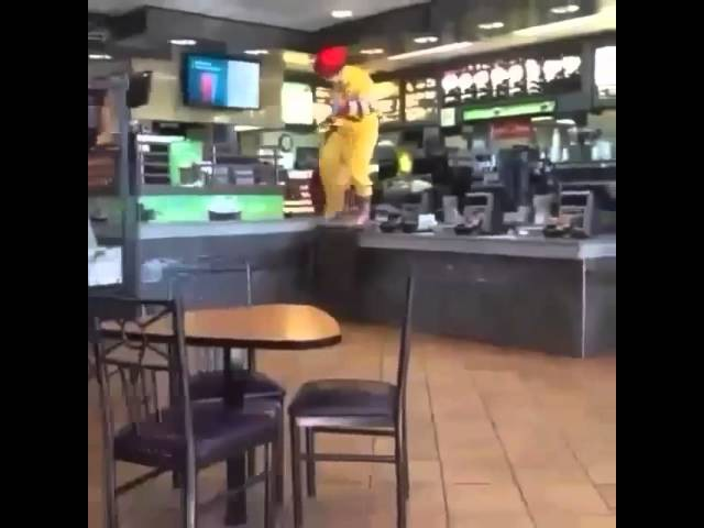 Ronald McDonald-Get Out Of Yo Mind! Vine