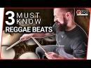3 Reggae Drum Beats Every Drummer Should Know | Reggae Drums | Stephen Taylor Drum Lesson